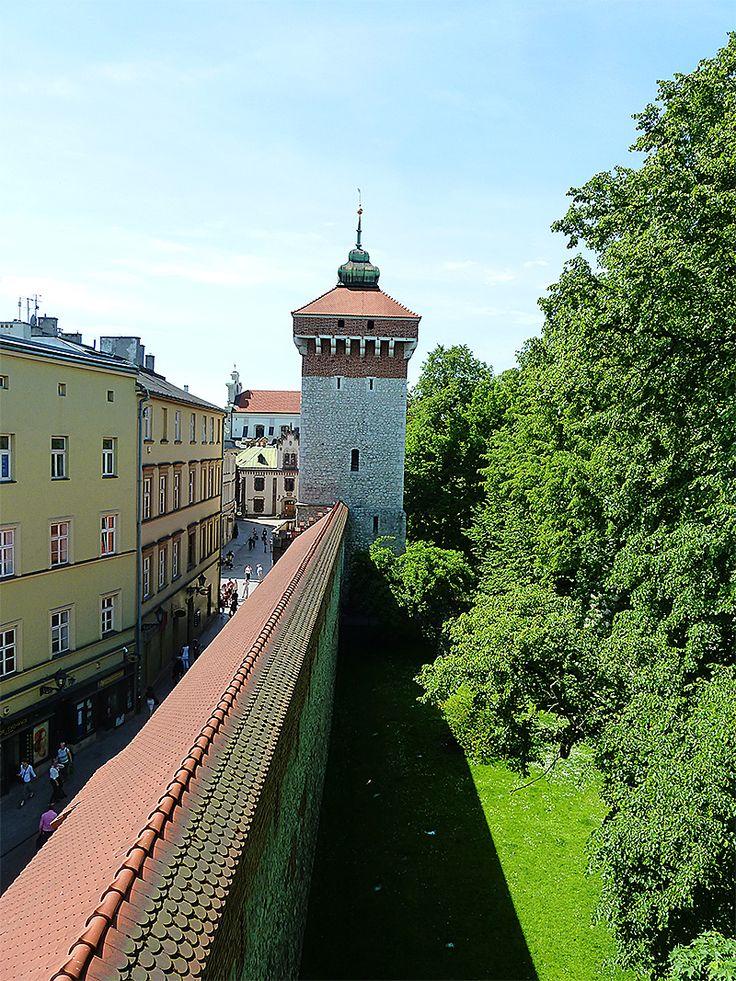 und noch mal Krakauer Stadtmauer