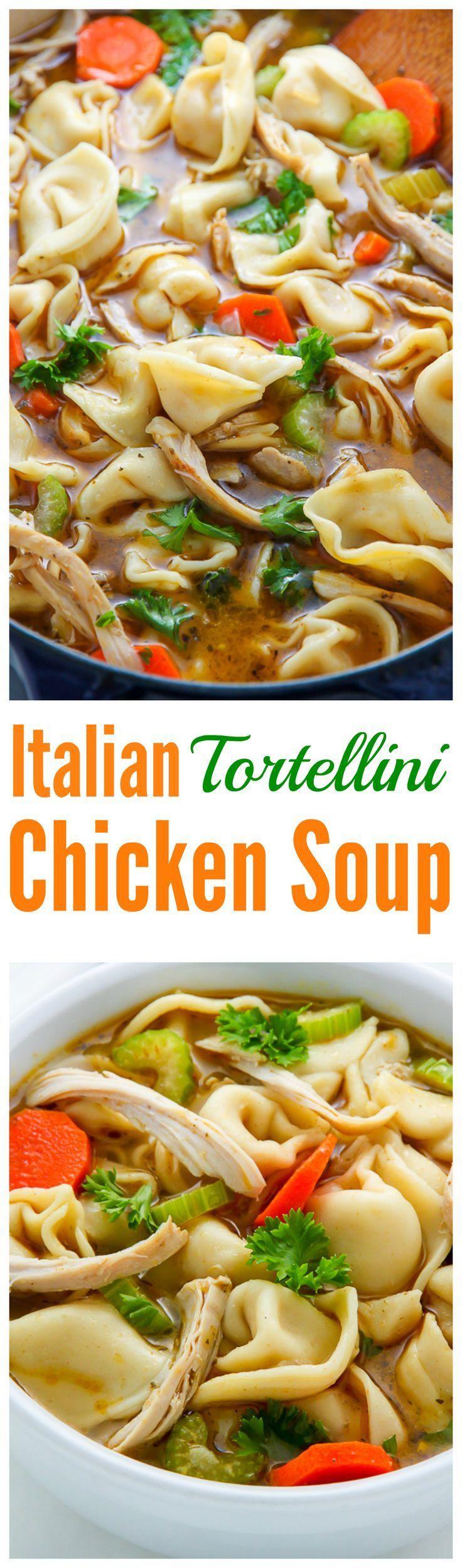 Italian Chicken Tortellini Soup | Recipe | The o'jays ...