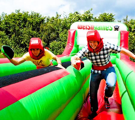 Don your dragon suit before racing your friends up the Brecon Beacons, down the valleys and across the slippery mud. Mind the livestock though! Visit our link for more explore about it.  #CardiffStagWeekend #WelshGames