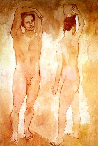 'Jugendliche', öl von Pablo Picasso (1881-1973, Spain)