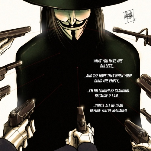 V for Vendetta one of my favourite films