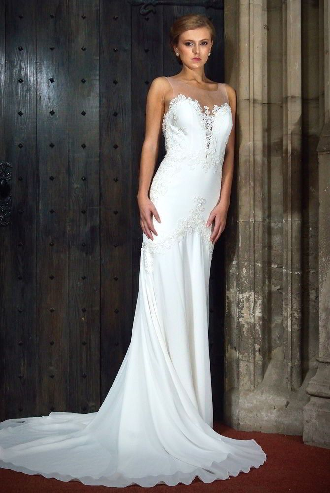 378 best Fit & Flare Wedding Dresses images on Pinterest | Wedding ...