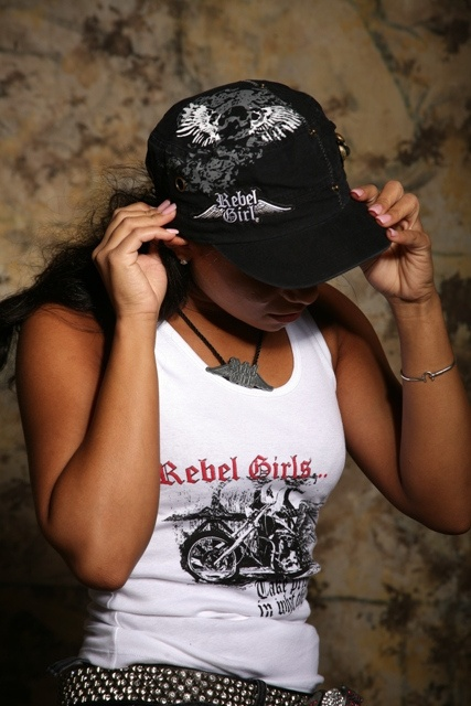 Womens Designer Fashion Motorcycle Inspired Apparel, Custom Leather,Fine Jewelry and Skin Care Official Licensed products of Rebel Girl Inc.Vintage Street Cap and Steel Horse Tank Top     Some of the new fashion pictures I found.   If  You are interested in  fashion courses here is something interesting http://fashiondesigncourse.easy2u.eu
