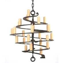 spiral chandelier by paul ferrante - Paul Ferrante Chandelier