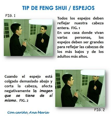 Feng Shui y los espejos  anamaria.fengshui@gmail.com Lima Perú