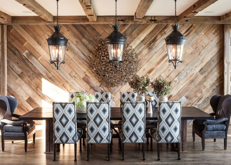 """""""This Lake Tahoe retreat by Jeff Andrews infuses the rustic genre with unexpected levels of design sophistication"""" Michael Wollaeger ~ Interiors Magazine"""