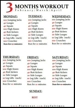 3 month workout plan  diet  exercise  pinterest