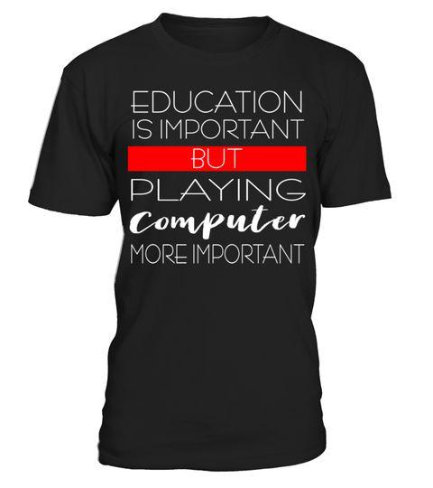 # Computer spielen! .  Für alle Zocker unter euch, das ultimative Shirt für alle Zocker, Gamer und Progamer! Zuschlagen FTW!Computer, Computer, Freak, Computer, humor, Gaming, gamer, spiel, nerd, computer, internet, pc, online, konsole, zocken, Zocker, lernen, schule, abi, gymnasium