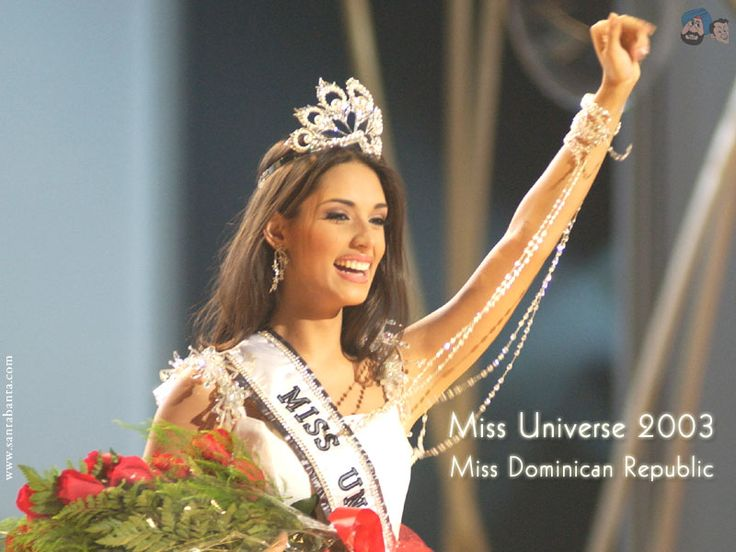 Amelia Vega, Miss Universe 2003
