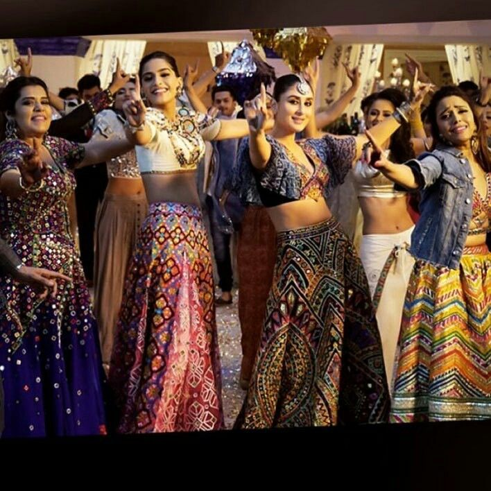 Veera Di Wedding.Still From Veere Di Wedding Movie Dhvani S Collection Veere Di