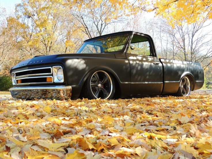 My Dad's 1968 Chevy C10..(: