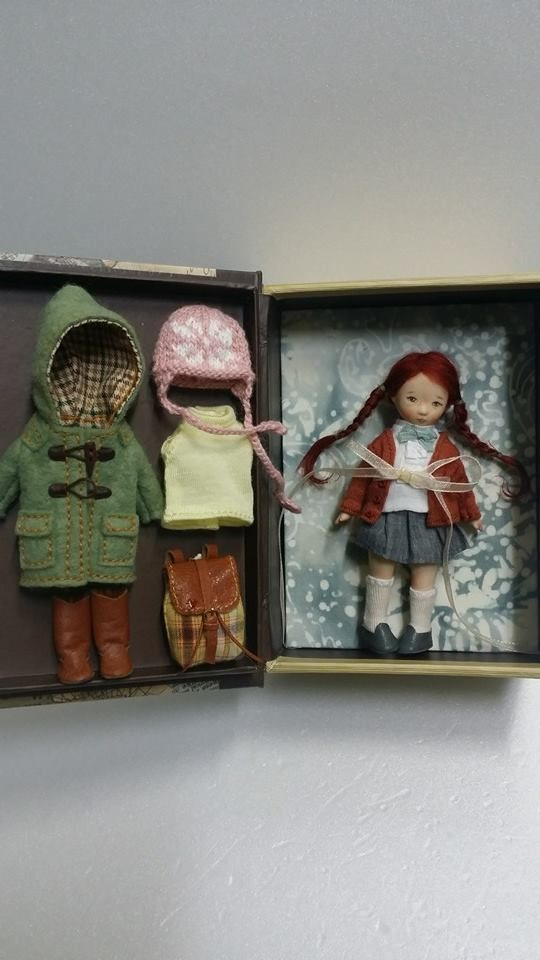 Doll Set by Sun Joo Dee...I just love this set. Great inspiration
