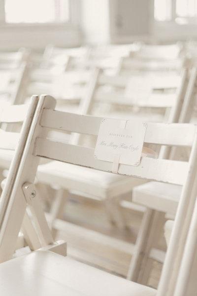 reserved ceremony seats