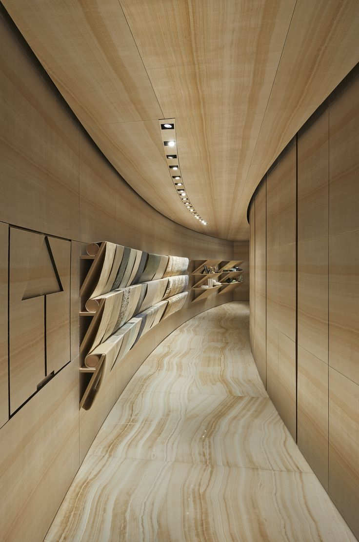 Corridor Roof Design: Armani's Revamped London Store Houses Fashion And