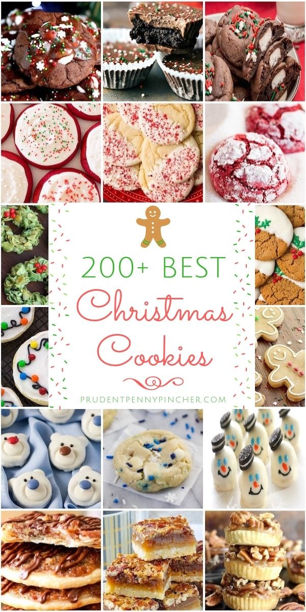 200 Best Christmas Cookies Holiday Cheap Christmas Holiday