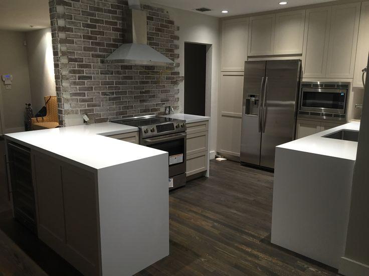 Mystery White Marble Slab Kitchen Countertop | South Miami Kitchen   Marmol  | Our Residential Projects | Pinterest | South Miami, White Marble And ...