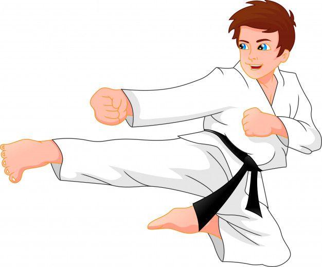 Menino De Karate Karate Boy Cartoon Art Styles Karate