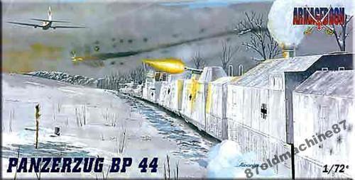 Бронепоезд PANZERZUG BP 44.Armageddon -1:72