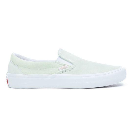 8b3966f509d11a Vans Slip-On Pro Shoes ambrosia white