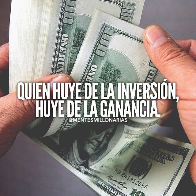 who flees investment, flee profits.   #MentesMillonarias #Emprender #Emprendedor