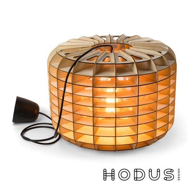 DRUM LAMP - cnc laser cutting file lamp pendant / lighting / wood lamp / design lamp