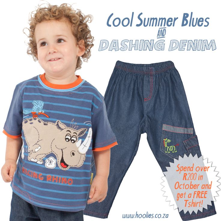 Summer blues #fairtrade # childrensclothing #southafrica