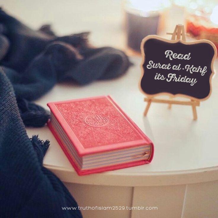 Read surah Al Kahf  this Friday.