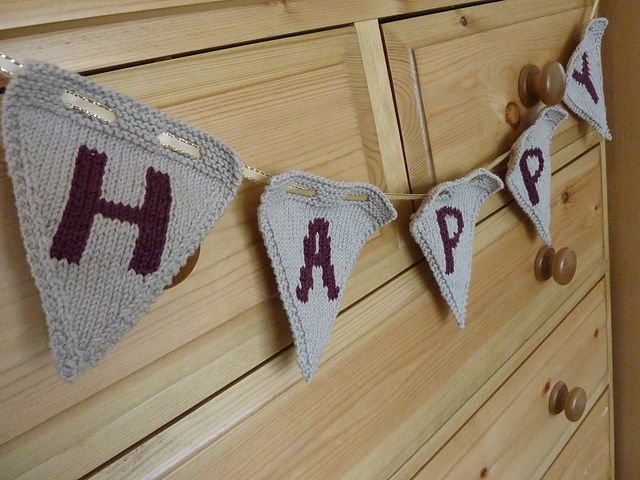 Ravelry: Party Bunting pattern by Jo Shaw
