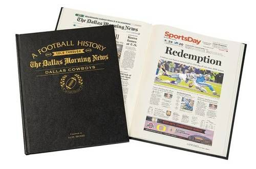 This personalized Football book is all about their favorite team, with the team's history and personalized with their name and your Anniversary message