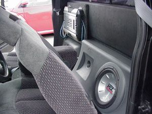 Clint beefed up the audio in his 1996 GMC Sonoma with gear from Crutchfield. #MTX #srslyDIY