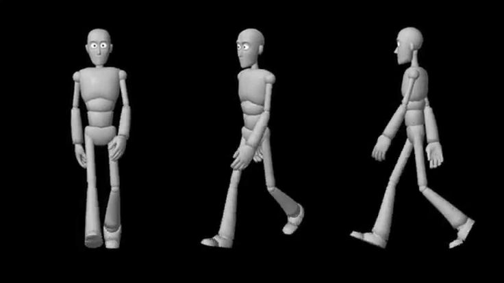 Walk Cycle Animation - Norman Rig