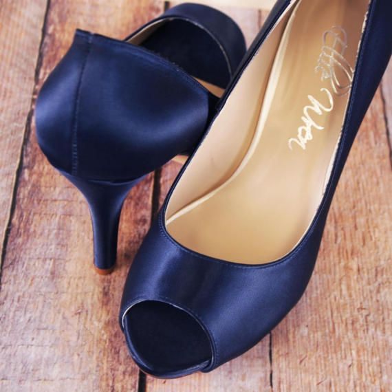 109 best something blue wedding shoes images on pinterest wren wedding shoes bridal heels bridesmaids shoes navy blue wedding bridal heels budget wedding shoes simple wedding shoes wedding shoes junglespirit Choice Image