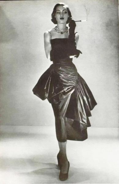 1950, Germaine Lecomte gown for L'Art Et La Mode