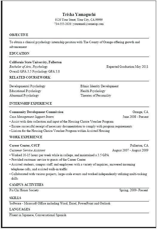 usa jobs resume examples office pinterest sample resume