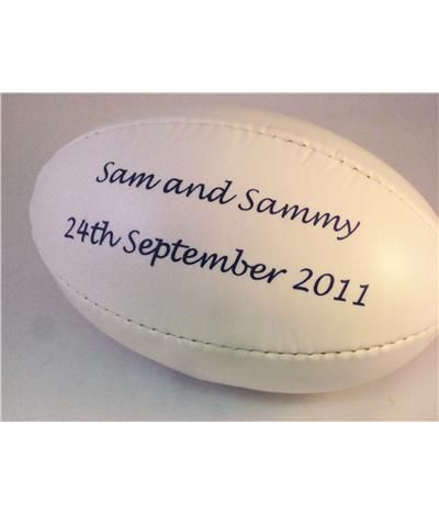 Mini Rugby Ball   Products   Little Wedding Ideas