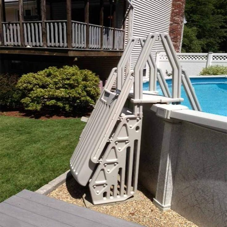 Best 25 Above Ground Pool Ladders Ideas On Pinterest Pool Ladder Intex Pool Ladder And Above