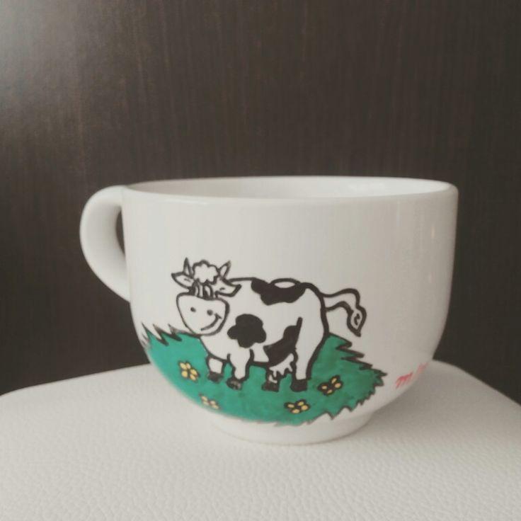 M s de 1000 ideas sobre tazas pitadas a mano en pinterest - Tazas decoradas a mano ...
