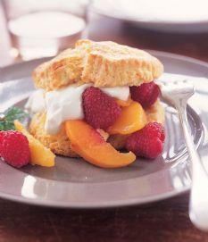 Barefoot Contessa Recipes Peach Raspberry Shortcakes