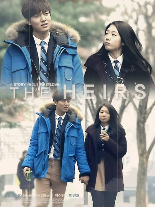 lee min ho and park shin hye �� kdrama �heirsquot quotthe