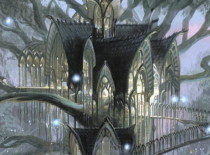 Image result for elvish architecture Elven city Elf city Lotr elves