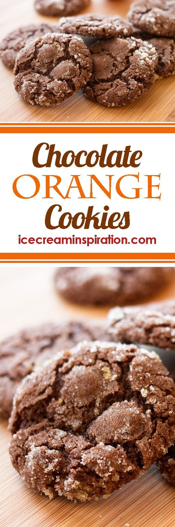 These Chocolate Orange Cookies are the perfect Christmas cookie. The orange peel mixes so well with the flavor of chocolate. Add these to your list of must-make Christmas cookies!