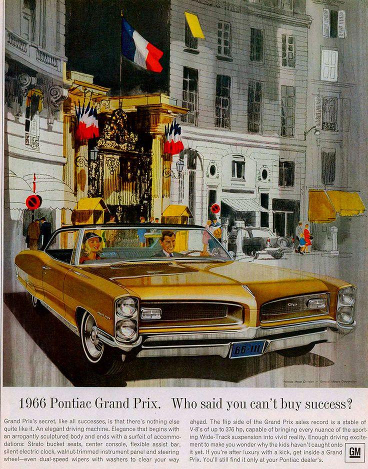 1966 Pontiac Grand Prix Ad