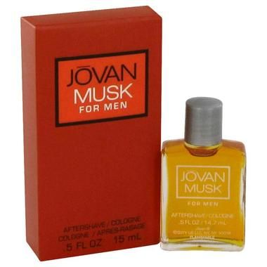 JOVAN MUSK by Jovan Aftershave/Cologne .5 oz