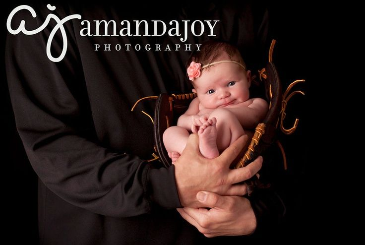 Inspiration For New Born Baby Photography : newborn baseball pictures