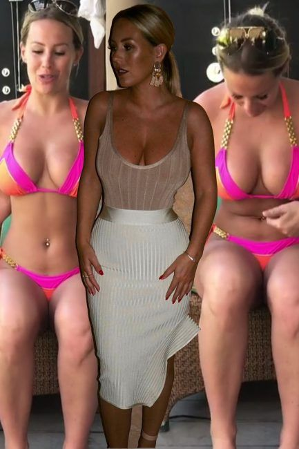 Kate Wright shares ANOTHER video defending curves as she explains she was 'caught off guard' in holiday snaps with Rio Ferdinand