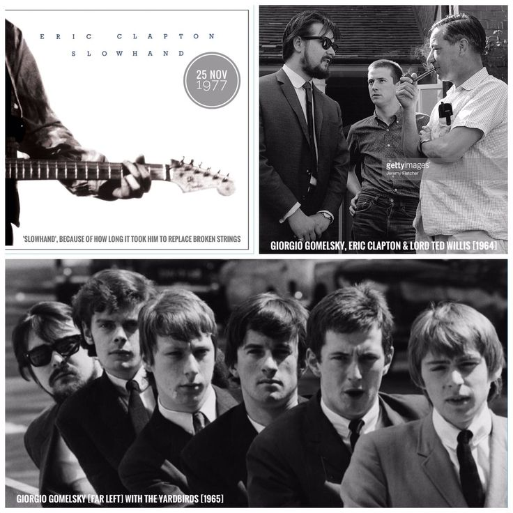#EricClapton's album 'Slowhand' was released on this day in 1977. Yardbirds' manager Giorgio Gomelsky gave Eric the 'Slowhand' nickname.