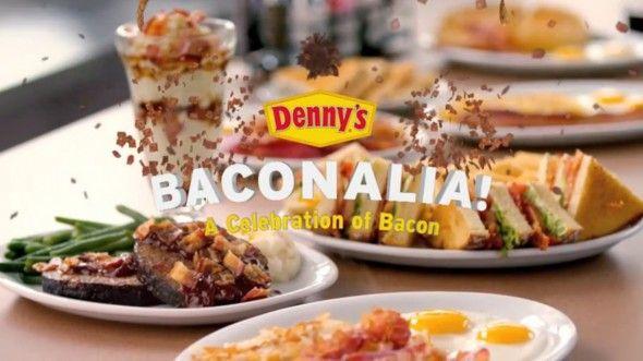 Denny's Baconalia: A Festival Of Bacon