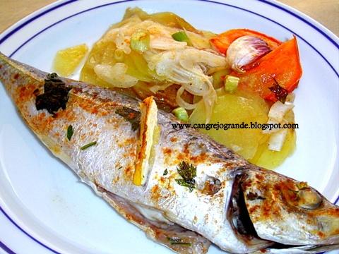11 best cocinar pescado horno images on pinterest for Cocinar jurel