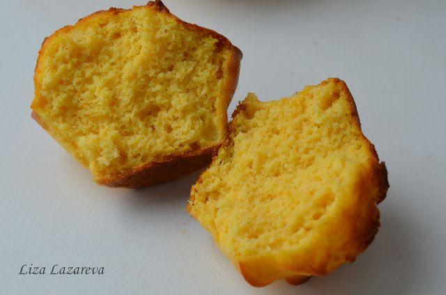 MY FOOD или проверено Лизой: Тыквенно-сметанные кексы