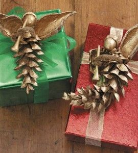 17 best images about pinecone angel on pinterest angel for Country woman magazine crafts